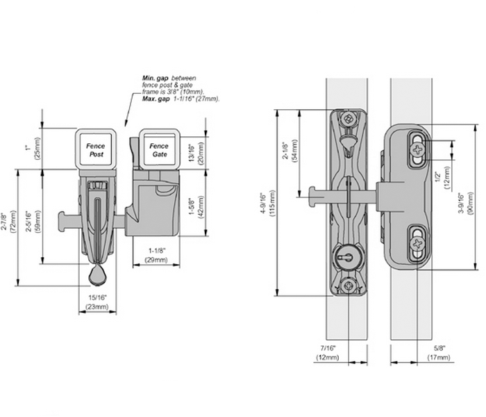 LLAA Dimensional Drawing