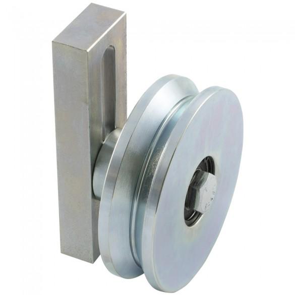 """D&D SHUT IT - 4"""" HardCORE Cantilever Wheel Assembly - CI2240"""