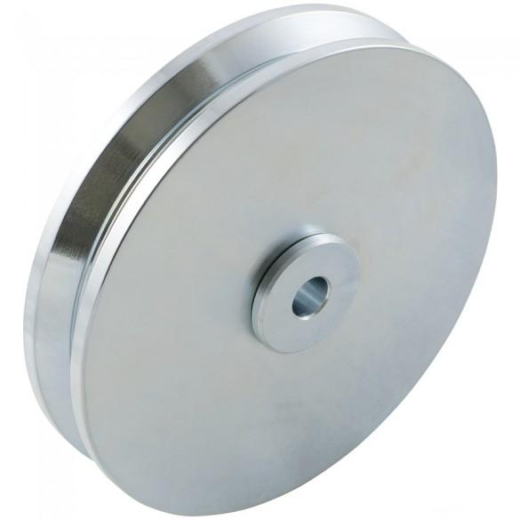 """D&D SHUT IT - 6"""" HardCORE V-Groove Wheel For 1 1/2"""" Gate Frame - CI2615"""