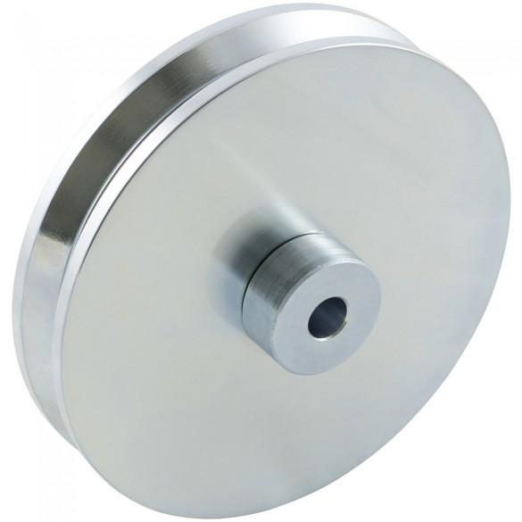 "D&D SHUT IT - 6"" HardCORE V-Groove Wheel For Wheel Boxes - CI2625"