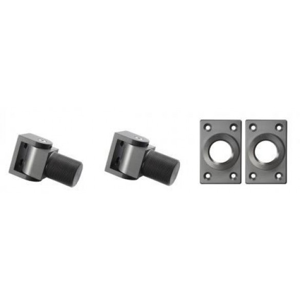 D&D SureClose Self-Closing Center Mount Hinge Kit w/ S-Hinges And Brackets, SM S  - 77001113