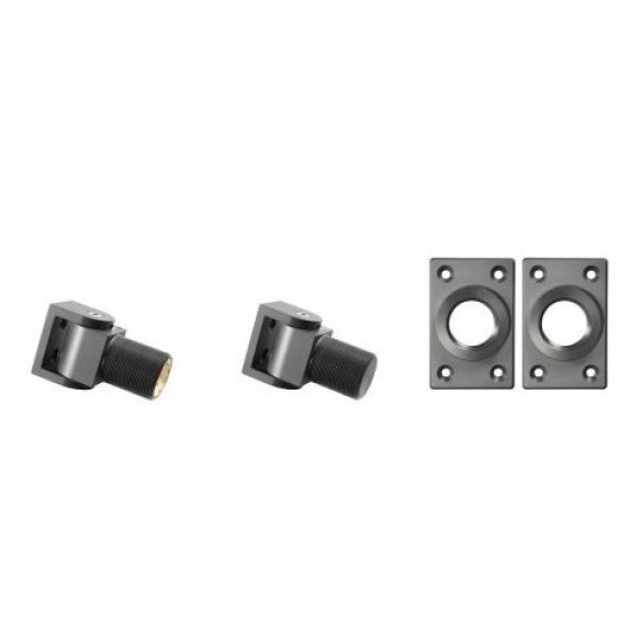 D&D SureClose Center Mount Hinge Kit w/ S-Hinges And Brackets, 57 S - 77057113