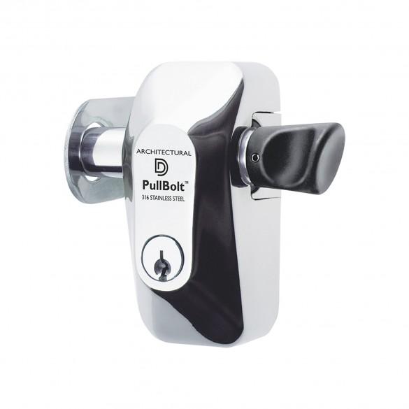 D&D PullBolt Side Mount - Architectural Security Lock - FPBSSSM-KS