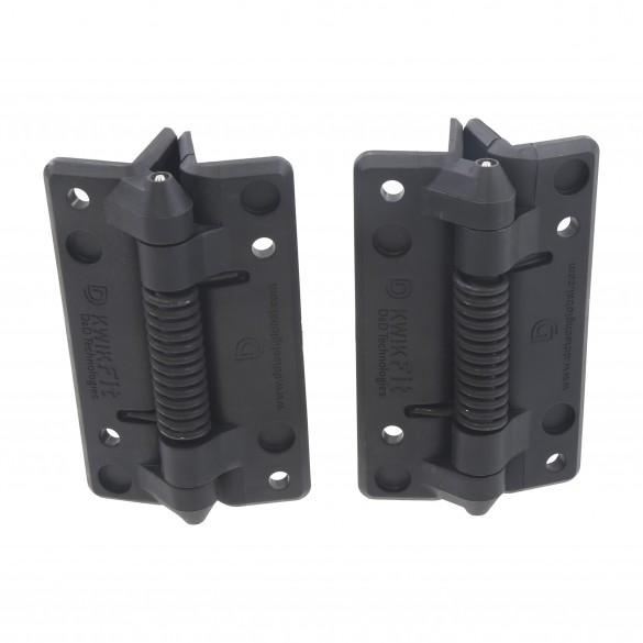D&D KwikFit - General-Purpose Gate Hinge - Fixed Tension - KFS (Pair)