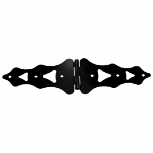 "D&D Metal 10"" Strap Hinge Regular Decorative - 310005"