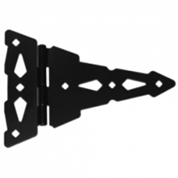 "D&D Metal 8"" T-Hinge Heavy Duty Contemporary - 310007"