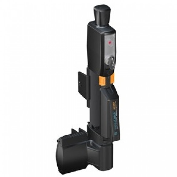 D&D MagnaLatch Series 3 ALERT - Vertical Pull - 6-Pin Lock - Keyed Alike + Alarm - ML3AVPKA