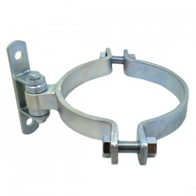 """D&D SHUT IT BadAss Bolt-On Gate Hinge w/ Sealed Bearings for 8"""" Round Posts - Steel (EA) CI2054"""