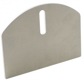 "D&D SHUT IT 6"" HardCORE Aluminum Carriage Plates (Pair) - CI2160A"