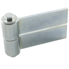 """D&D SHUT IT BadAss Barrel Gate Hinge w/ Sealed Bearings (6"""" Strap) - Steel (EA) CI3900"""