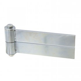 "D&D SHUT IT BadAss Weld-On Barrel Gate Hinge w/ Sealed Bearings (10"" Strap) - Steel CI3925"