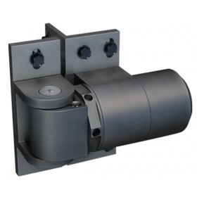 D&D ReadyFit 88° Self-Closing External Hinge-Closer w/ Aluminum Brackets - Pool Safe - 74108323