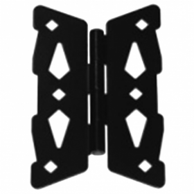 "D&D Metal 8"" Butterfly Hinge Contemporary - 310009"