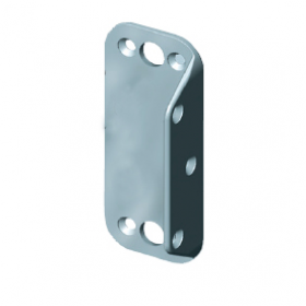 D&D PullBolt - Stainless Steel Body Mount Fixing Leg - FPBSSLB
