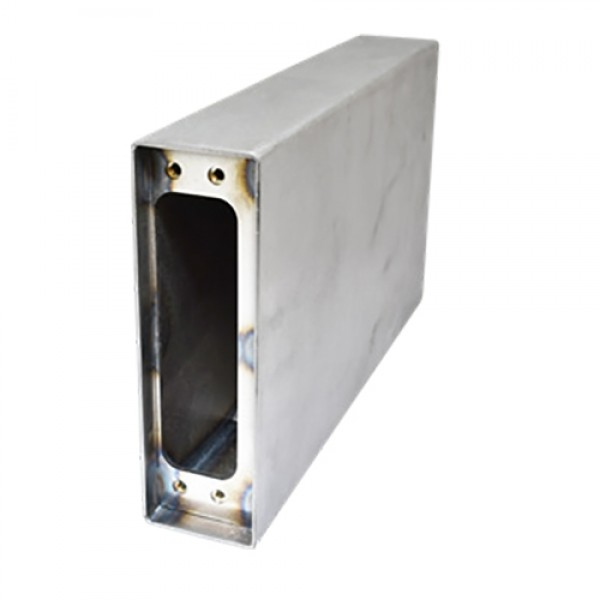 D&D SureClose ConcealFit Gate-Side Gate Weld Box For Hinge-Closer - Steel - 7821S