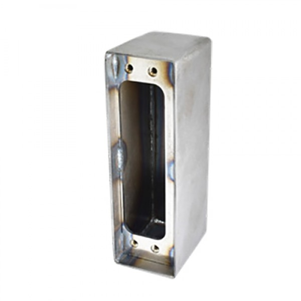 D&D SureClose ConcealFit Gate-Side Gate Weld Box For Hinge - Steel - 7822S