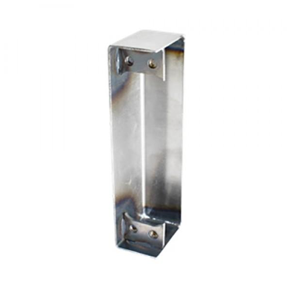 D&D SureClose ConcealFit Post Side Weld Box For Hinge-Closer And Hinge - Steel - 7823S