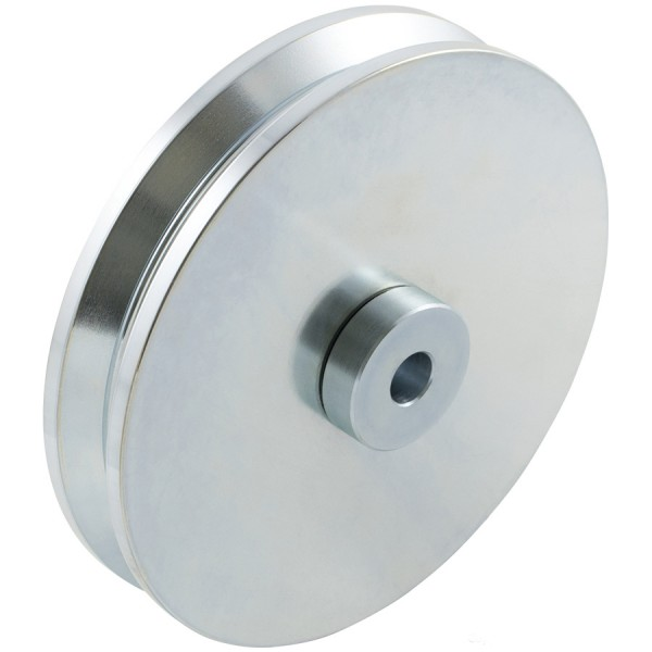"D&D SHUT IT - 6"" HardCORE V-Groove Wheel For 2"" Gate Frame - CI2620"
