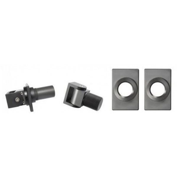 D&D SureClose Self-Closing Center Mount Hinge-Closer Kit w/ W-Hinges And Brackets, 108 W - 77108114