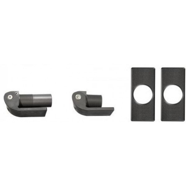 D&D SureClose Flush Mount Self-Closing Hydraulic Hinge-Closer Kit w/ W-Hinges And Brackets, 108SF AT90 W - 77108224