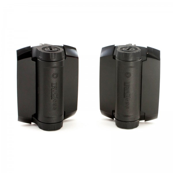 D&D TruClose Heavy Duty Gate Hinge, 2 Side Legs - TCHD1AL2S3BT (Pair)