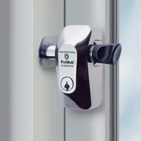 D&D PullBolt Side Mount - Architectural Security Lock - FPBSSSM-KS