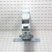 """D&D SHUT IT BadAss Bolt-On Gate Hinge w/ Sealed Bearings for 6"""" Round Posts - Steel (EA) CI2053 (Grid Shown For Scale)"""