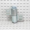 D&D SHUT IT BadAss Bolt or Weld-On Barrel Gate Hinge w/ Sealed Bearings - Steel (EA) CI3950 - Grid Shown For Scale