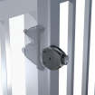 D&D LokkLatch Deluxe Privacy & Security Latch + EAK - LLDAB-KSA