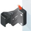 "D&D MagnaLatch - 2"" Gap Spacer - MLSPACER Installation Diagram"
